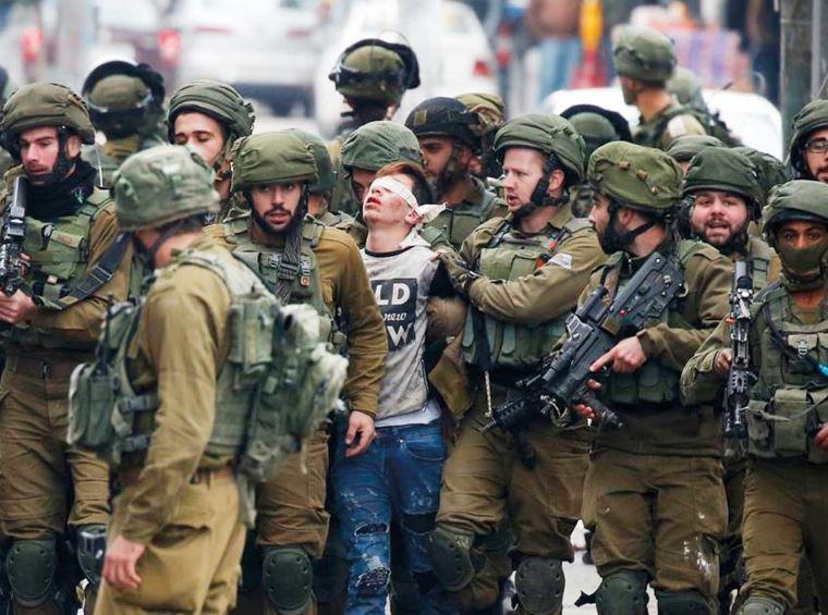 بازداشت ۲۳۰ کودک فلسطینی