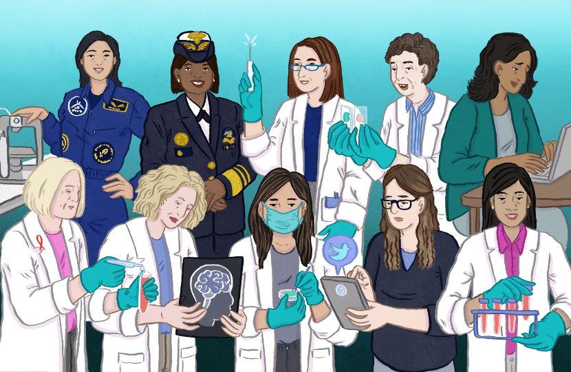 زنانیکه علم پزشکی را متحول کردند
